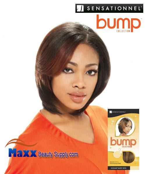 Sensationnel Bump Collection Human Hair Weave - Sassy 6""